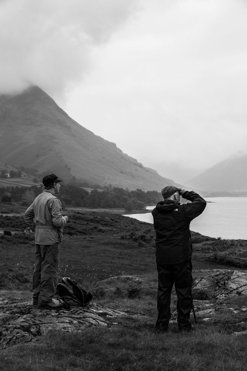 Trying To Find The Mountains. Wasdale Valley. The Lake District