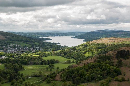 Windermere From The Fairfield Horseshoe