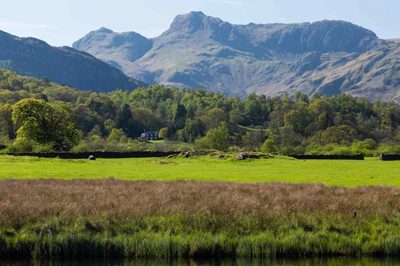 Great Langdale From Elterwater
