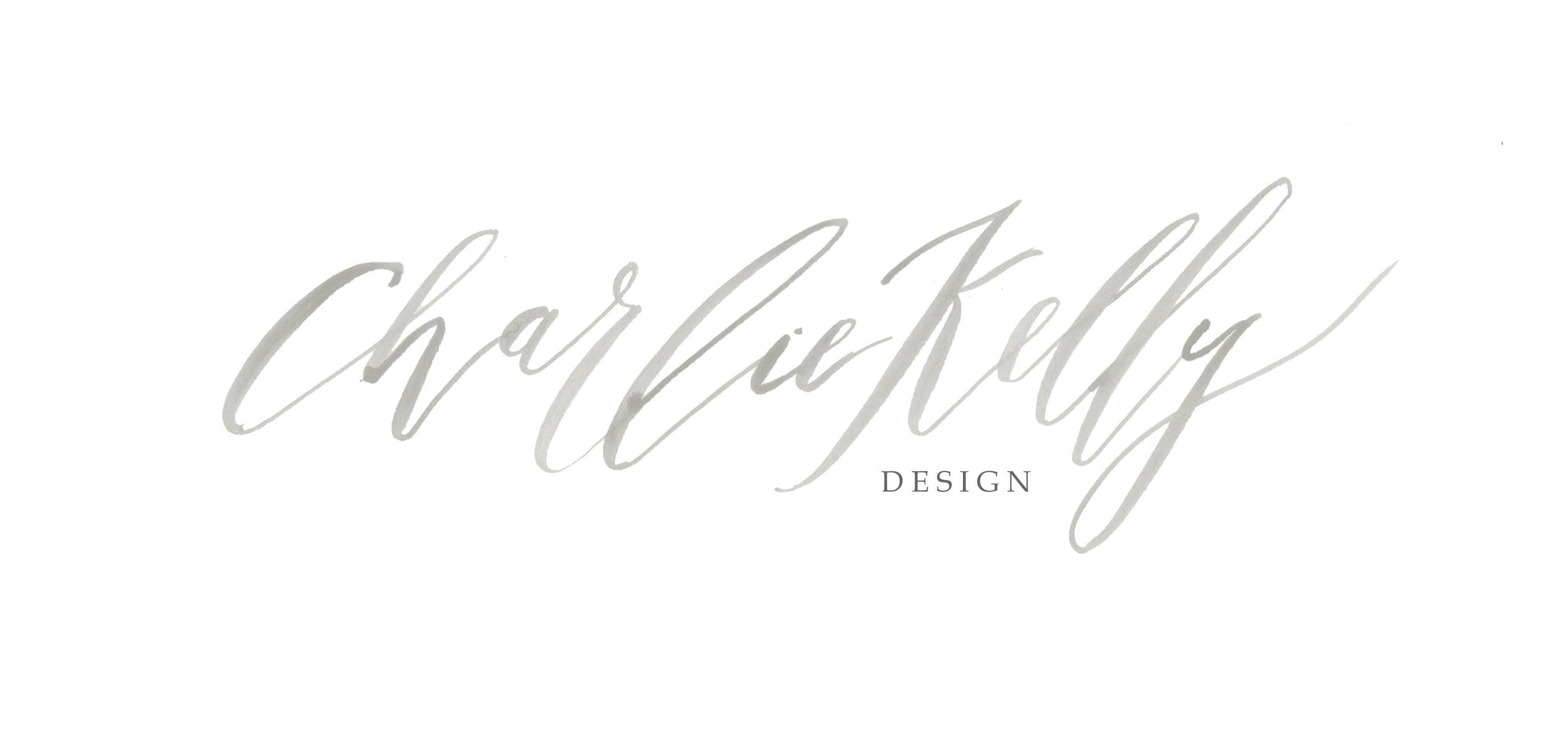 Tier III Calligraphy Watercolor Logo Submark Monogram