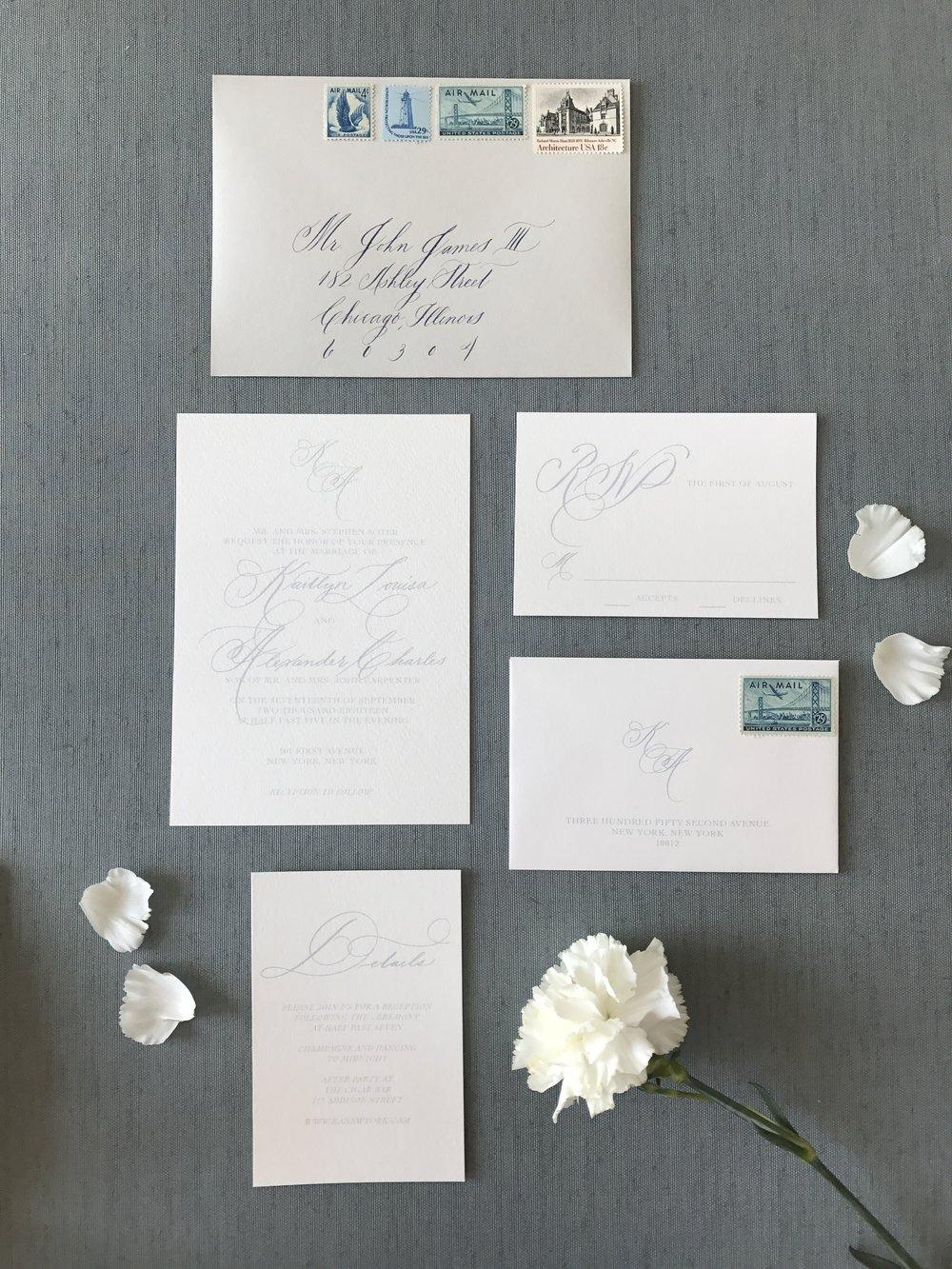 FlatLays How to Style Wedding Invitation Suites Kelsey Malie