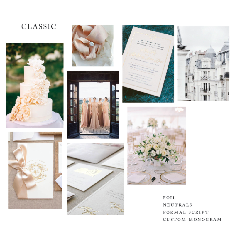 Jenna Bechtolt Photography; Susie Saltsman ring; Sam and Kelly wedding invitations as featured on Oh So Beautiful Paper; unknown; Blue Magpie Invitations; Kelsey Malie Calligraphy; Landon Jacob Photography with Reggie's Flower Shoppe; center: unknown