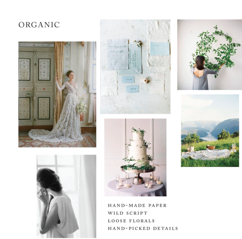 Emily Riggs gown, 2017, photographed by Corbin Gurkin; Mariel Hannah Photo; Rylee Hitchner with Honey of a Thousand Flowers floral as featured on OnceWed; Rylee Hitchner Photo; Laurie Arons event design, photographed by Jose Villa with Sarah Winward florals and Paula LeDuc catering; Erich McVey as featured on OnceWed