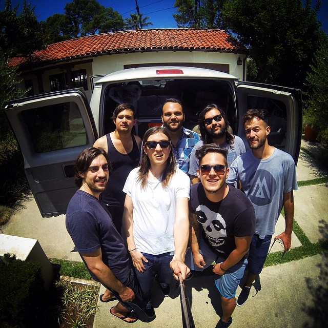 Your boys are hanging in Santa Cruz right now while Bernie gets a new tire! See you in Hood River OR on Thursday 6/18! Looking for a last minute slot for a show tonight!  #tour #santacruz #mayo #vectorrow #thegenesistour