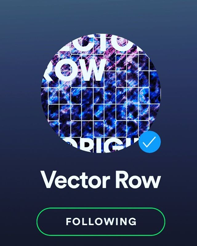 Verified! (PS, did you miss us?) #spotifyartist #spotify #vectorrow #originsep #newmusic #altrock #electronic #losangeles