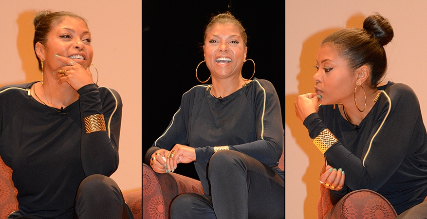 'Empire' actress Taraji P. Henson inspires Syracuse students with rags to riches story