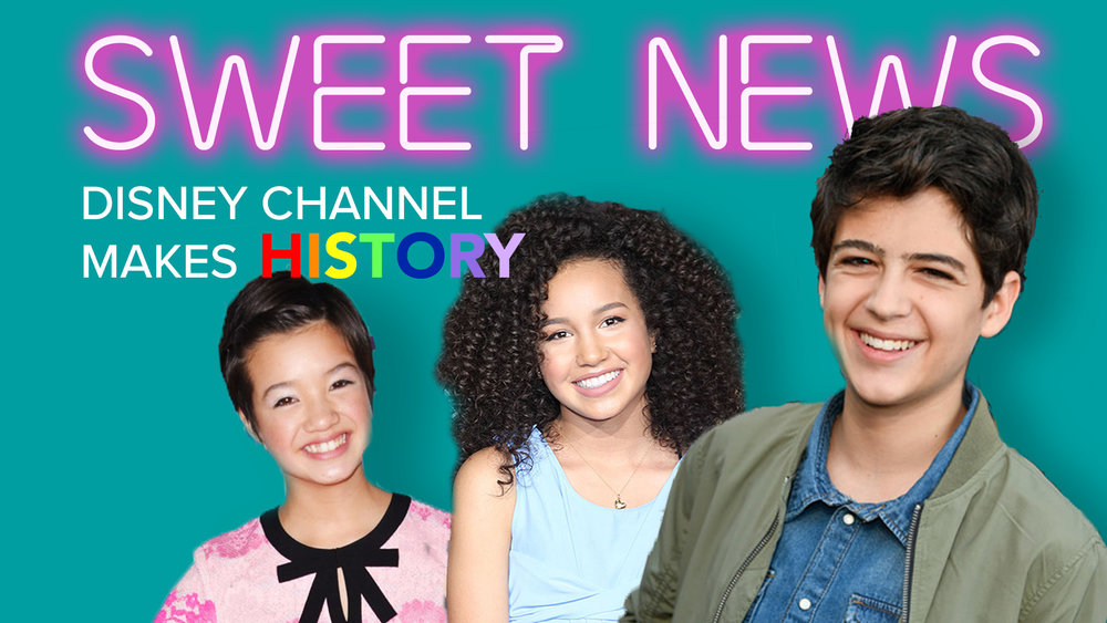 Andi Mack Stars React to Disney Channel Making History with First LGBTQ Storyline