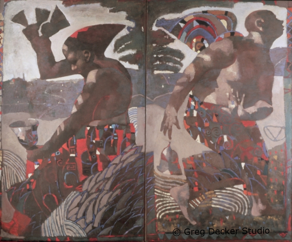 Bell Ringers (diptych)