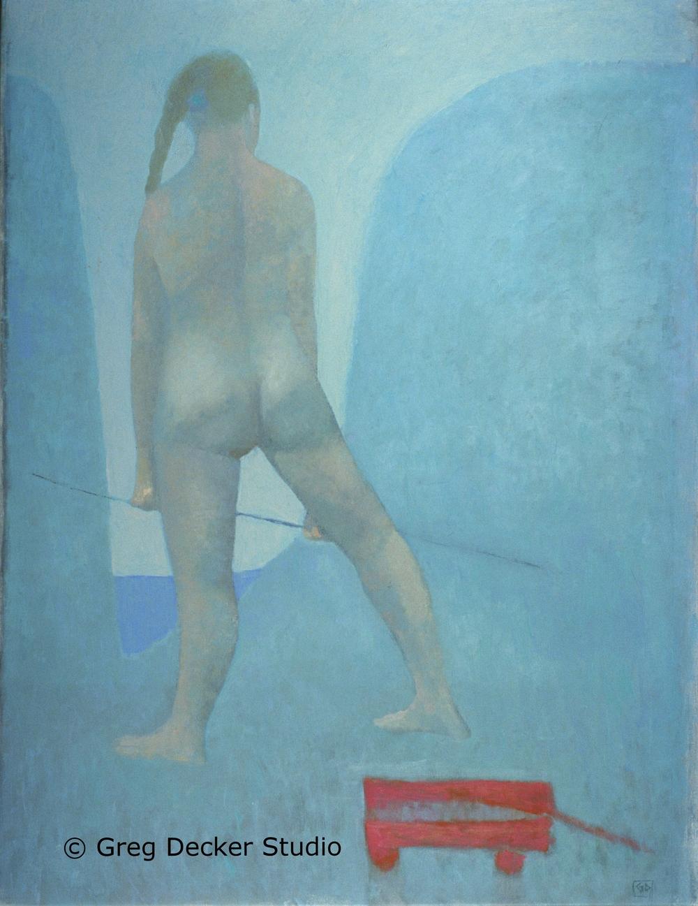 Blue Hills Woman