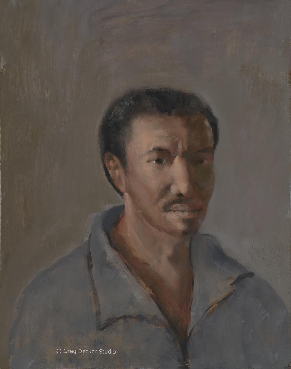 Portrait of James Wooten