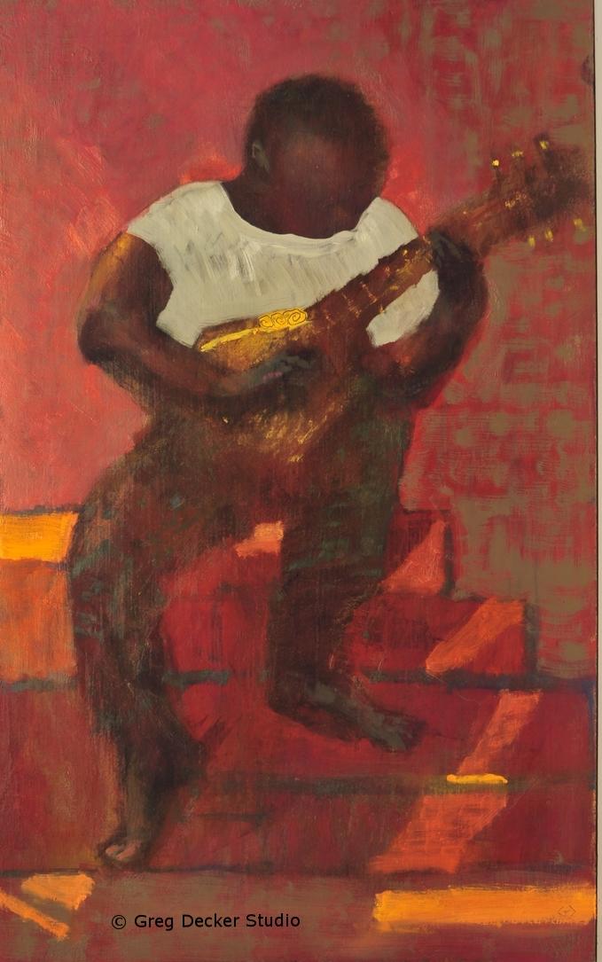 Guitarist (Study)