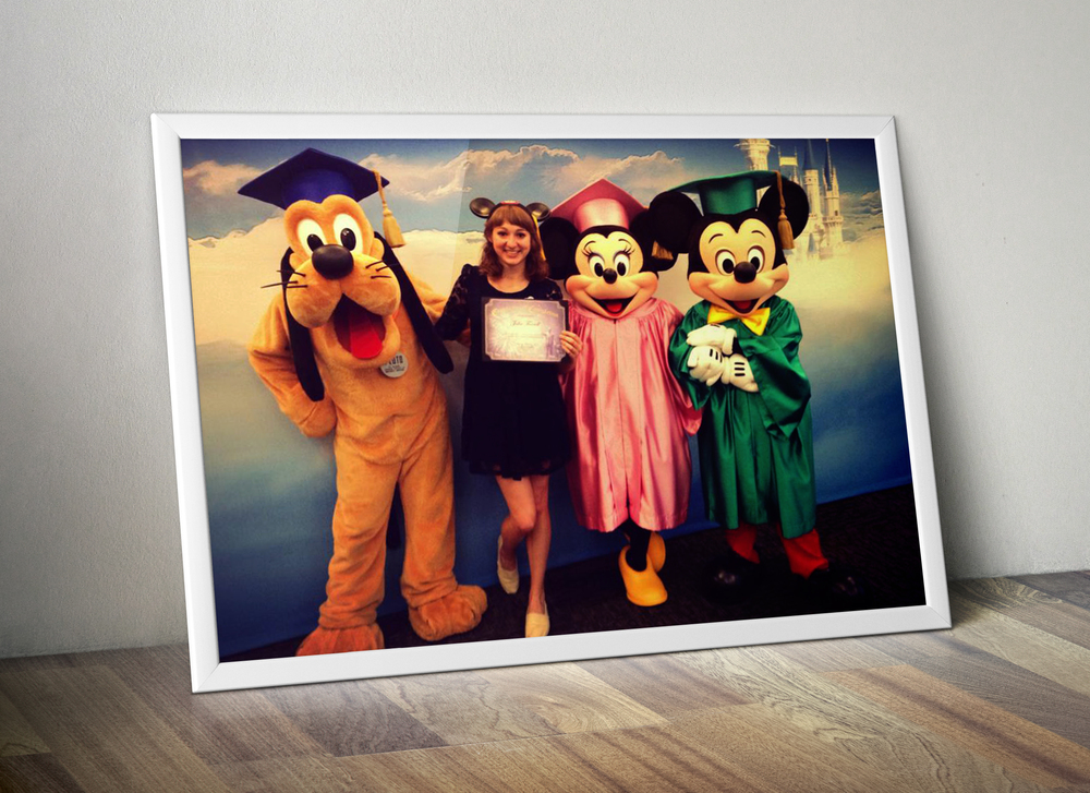 Graduation from the Disney College Program