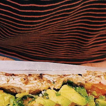 Happy #friday ✨🌮💛 #foodie #matzahbrei #broadwaybites #yumm #streetfood #vegetarian #vegan #foodporn #jasmine #xavier #monica  #summer #freshingredients #instafood #lunch #foodfestival #eeeeeats #foodcompanynyc #eatnyc #timeoutnyc #yougottaeatthis #instagrid #forkyea