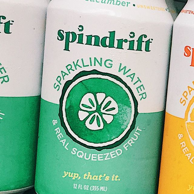 Refresh yourself with #spindrift ! Variety of flavors available here in  #MatzahBrei @ #broadwaybites !!!! 🥒✨🌮 . . . . #foodie  #yumm #streetfood #vegetarian #vegan #foodporn #jasmine #xavier #monica  #summer #freshingredients #instafood #lunch #foodfestival #eeeeeats #timeoutnyc #foodtripny #seltzer #cucumber #hydrate #seltzerwater #refreshing