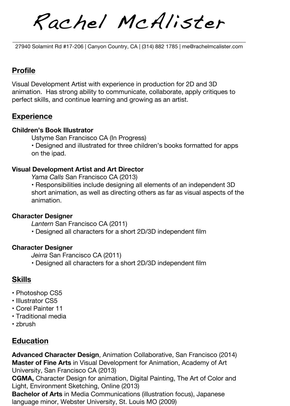 RachelMcAlister_Resume