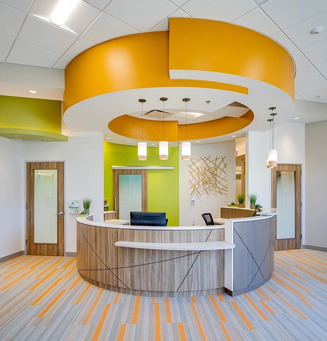 Love the clean and spacious new offices of @san_elijo_pediatric_dentistry in San Elijo Hills #sanmarcos #ca Dental design by Cindy Houck. #dentalconstruction #ihavethebestclients #pediatricdentistry #kidsplay #orthodontics