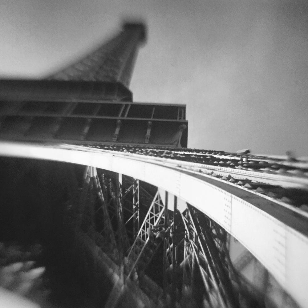 Eiffel Tower - Black & White