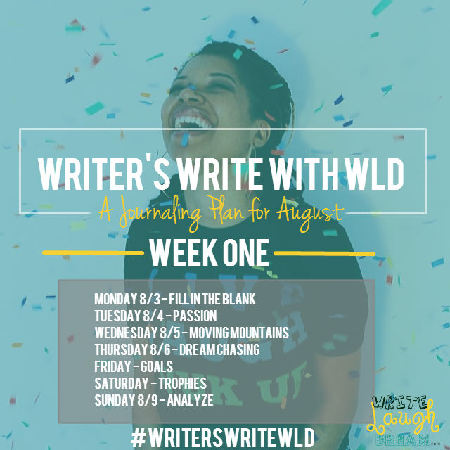 Writers Write Week One Promo