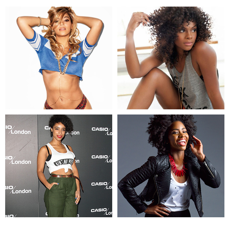 Images of beautiful black women
