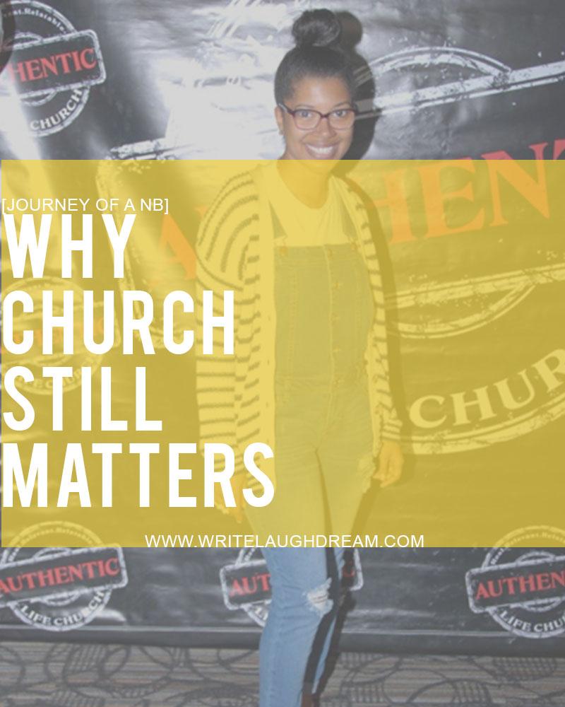 Going to Church Should Still Matter for Milllennial Generation