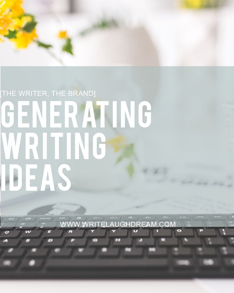 Generating Writing Ideas