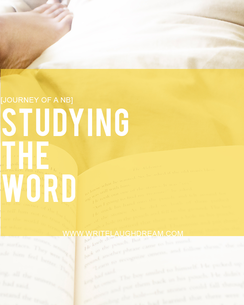 Studying God's Word