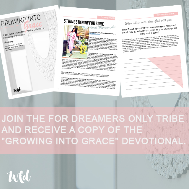 Growing Into Grace Devotional