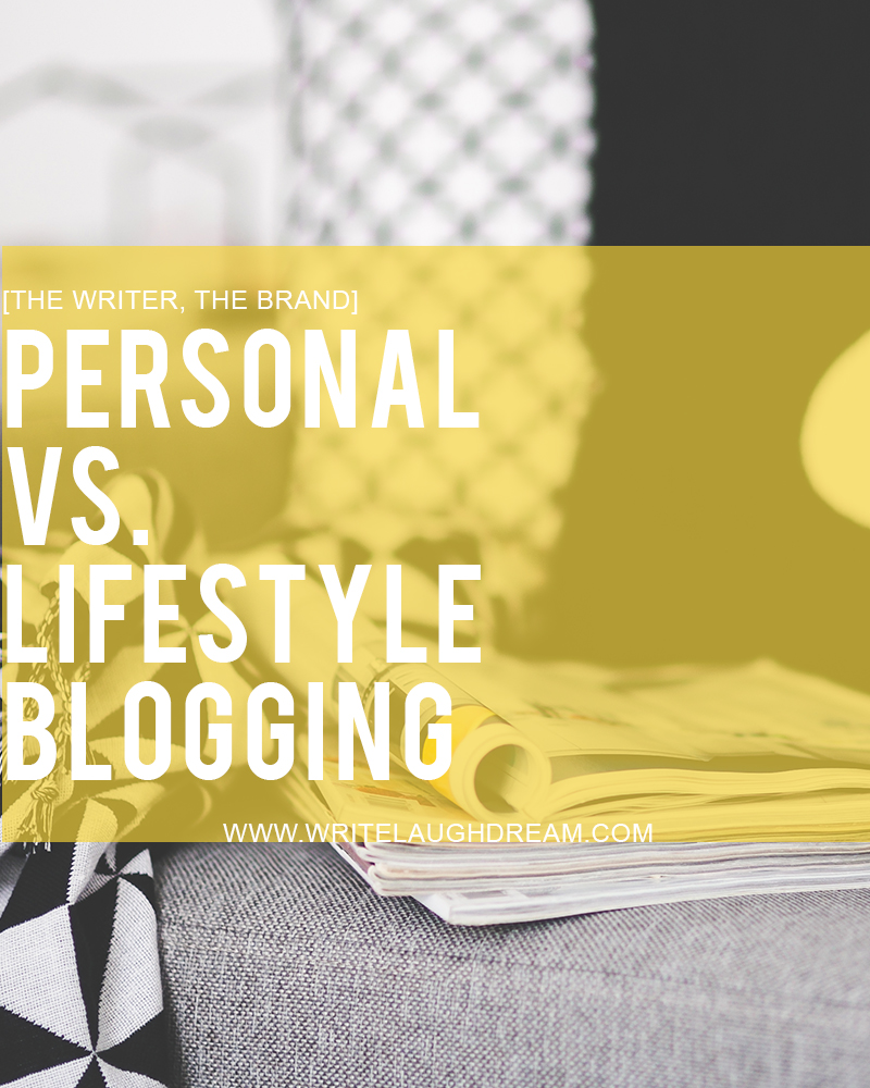 Are you a personal or lifestyle blogger?