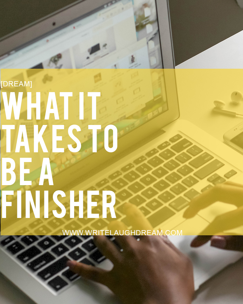 What it takes to be a finisher