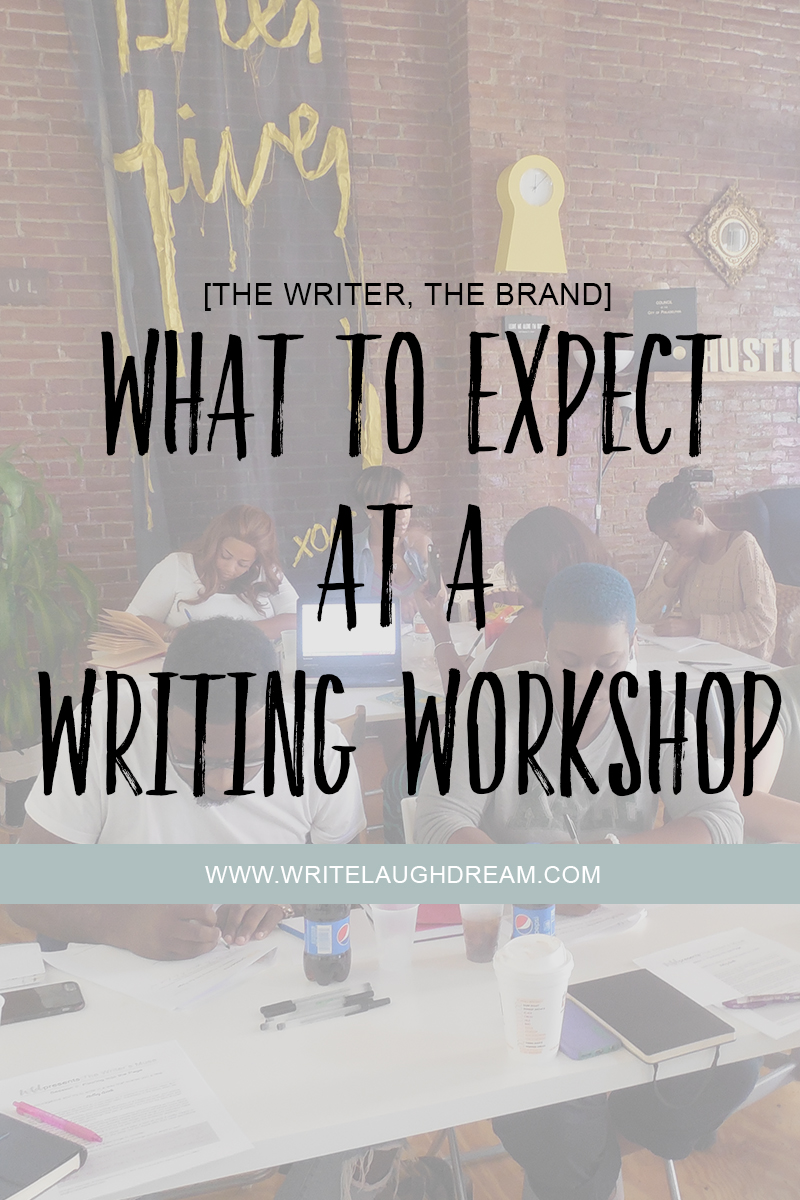 What to Expect at a Writing Workshop