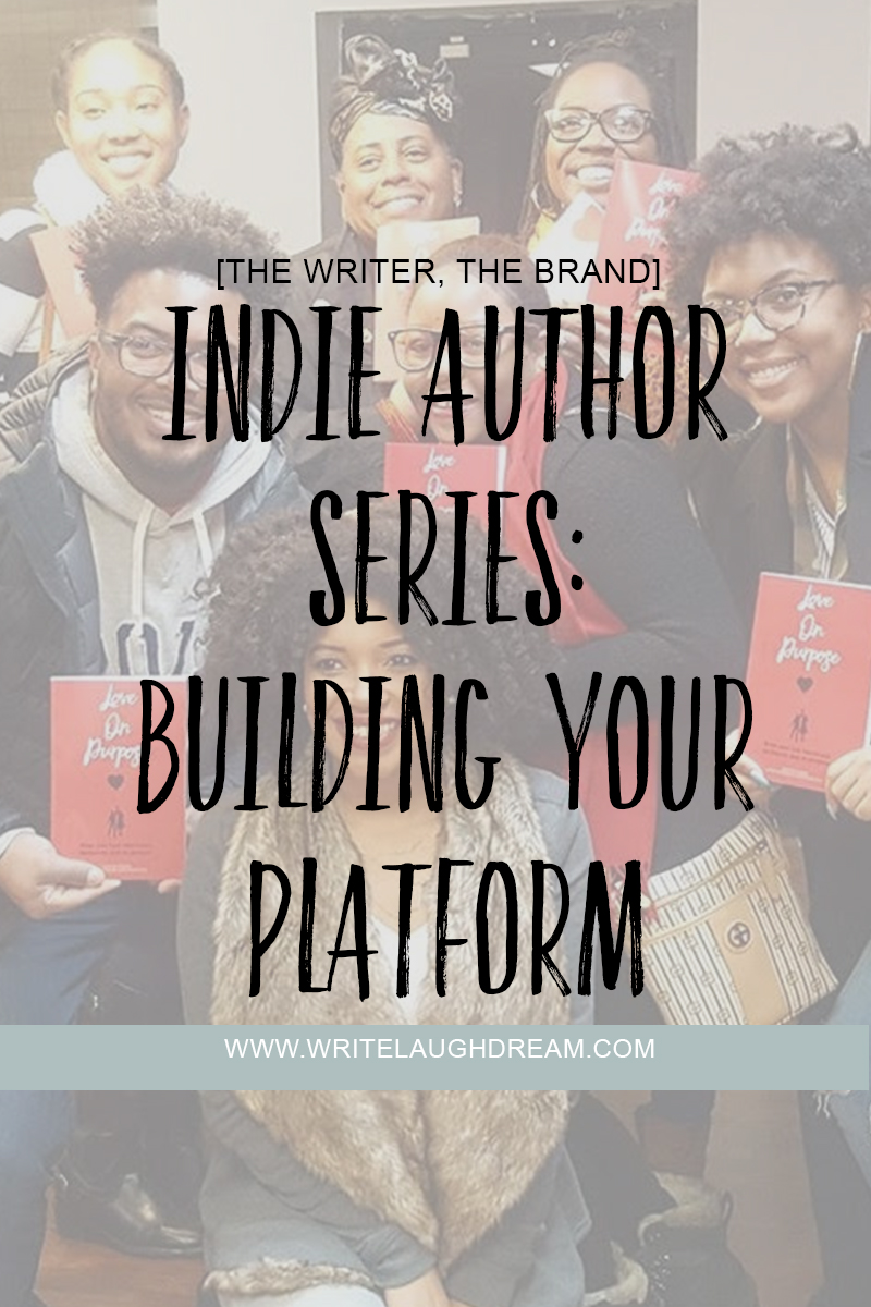 Indie Author Building Your Platform