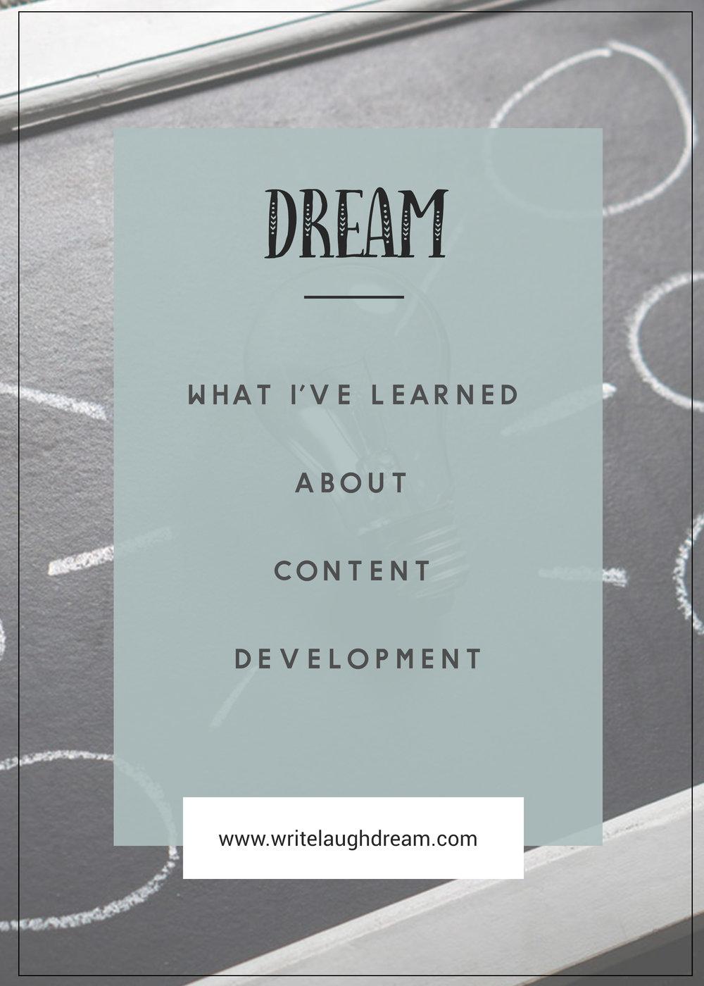 Content Development