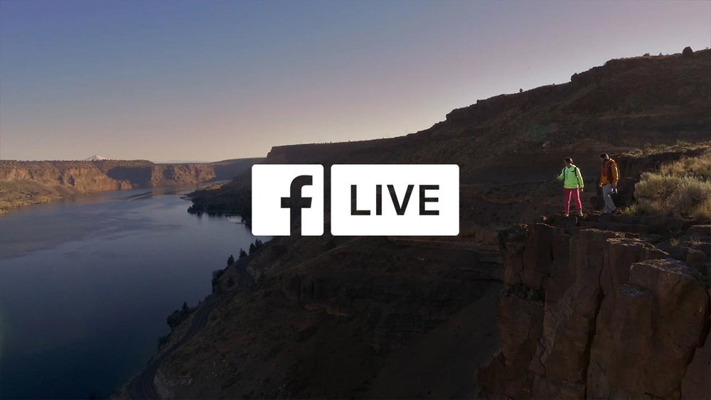 """Introducing Facebook Live"" 