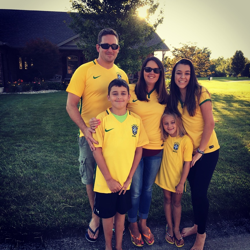 """Melissa and her family, including their """"daughter"""" from Brazil!"""