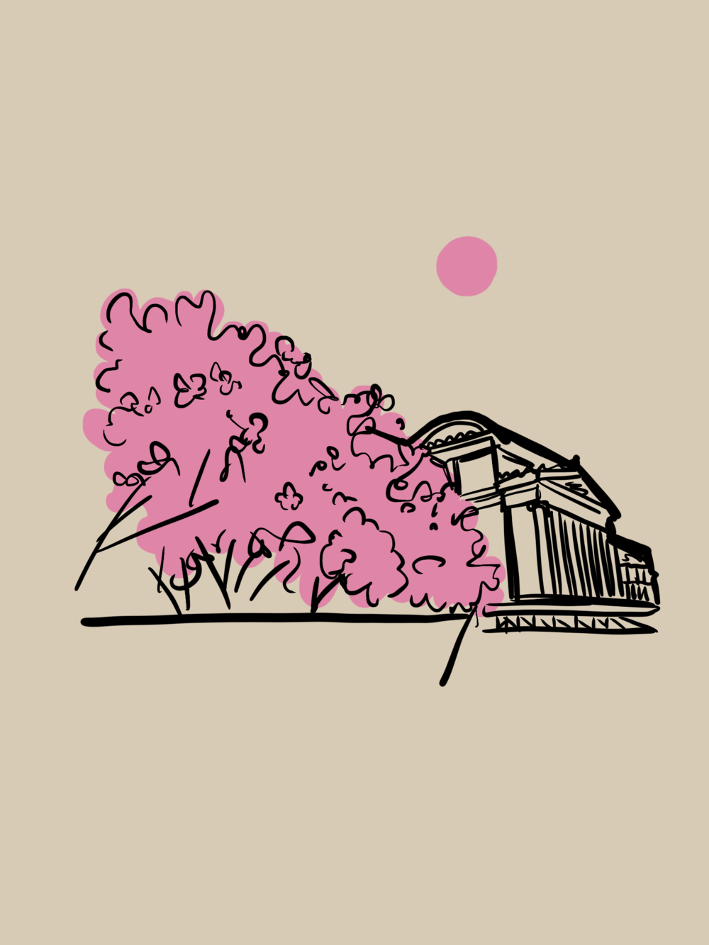 Brooklyn Museum - Digital Illustration