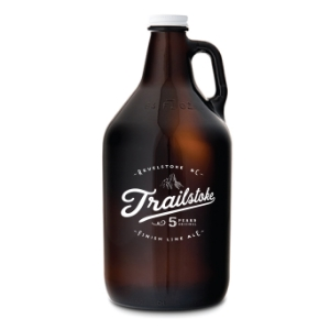 All finishers of the halfstoke and fullstoke marathon receive one of these sweet growlers!