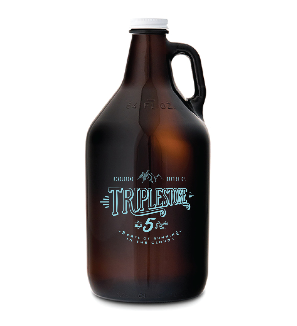 The Triplestoke Growler for anyone who completes the 3 day solo challenge.