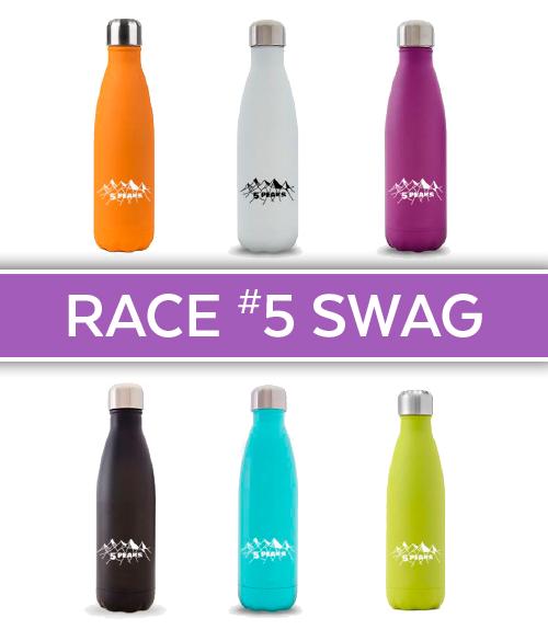 5 Peaks' Race #5 - Swell-style bottle BONUS swag