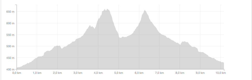 Enduro Course Elevation