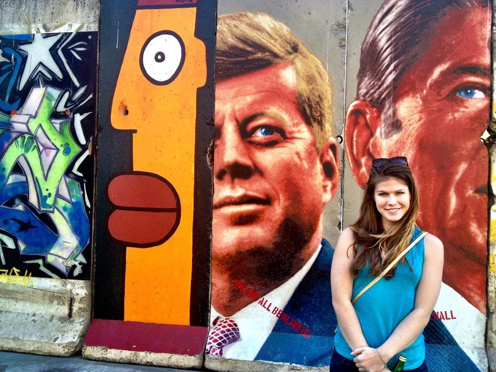 Berlin Wall circa Wilshire Blvd in Los Angeles.