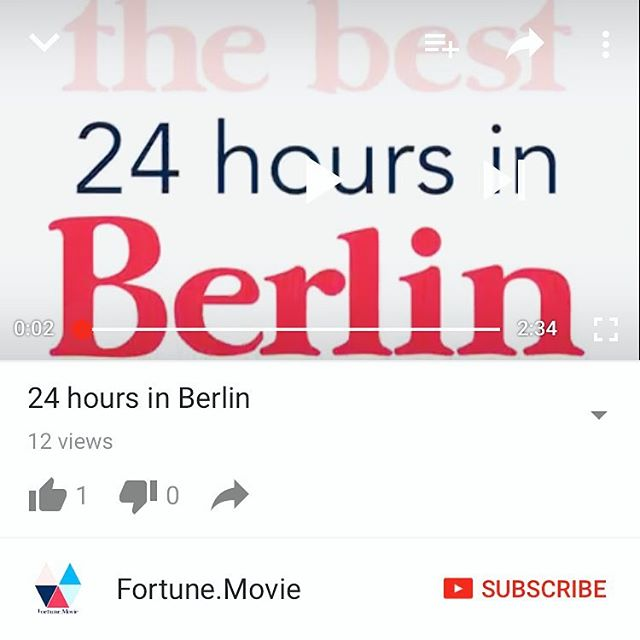 Will you check out the @youtube video of my first 24-hours in Berlin? Then book a trip to Berlin? Then go out with me so it looks like I have friends? K thanks, bye! [Link in bio] 😘 #berlinisforlovers