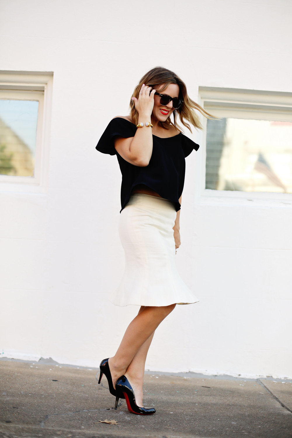 louboutin and chanel skirt.jpg