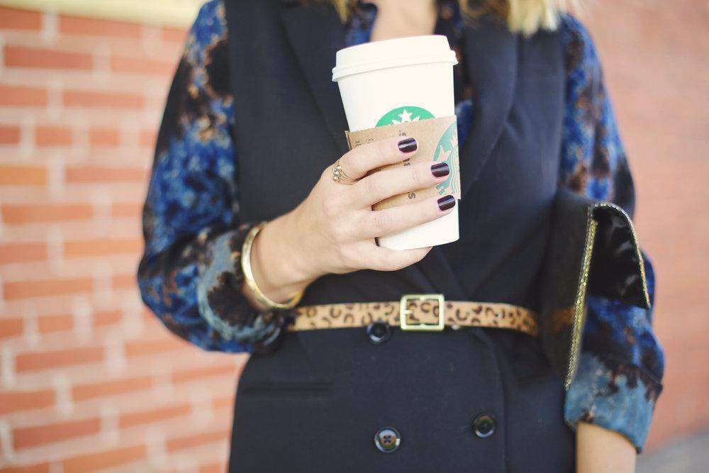 fifteen twenty tie dye dress with leopard belt and black vest.jpg