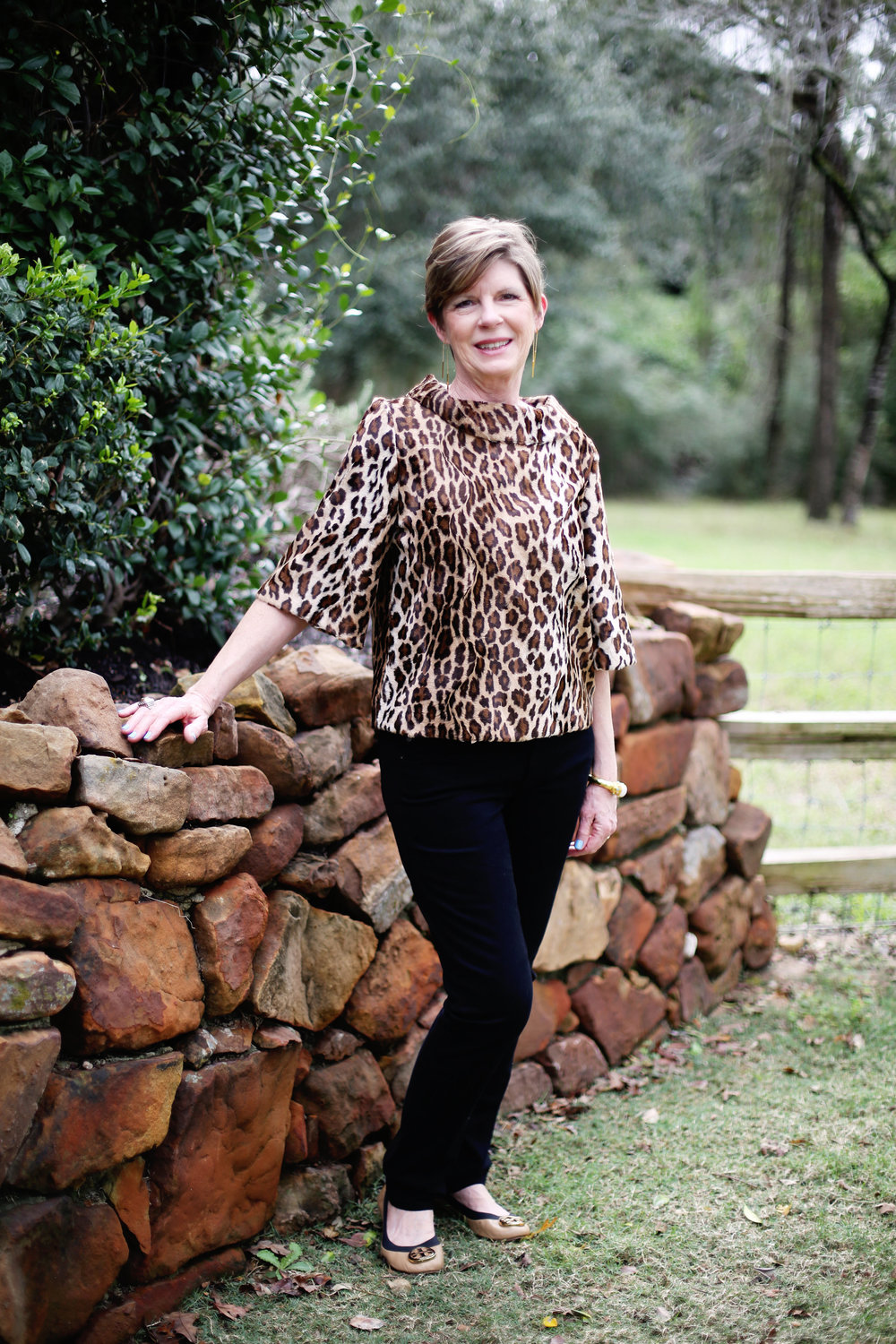 trina turk leopard top mom.jpg