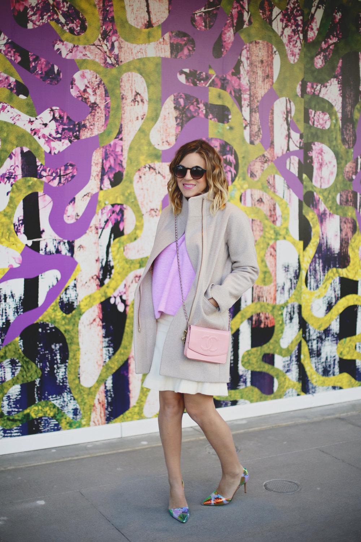 jcrew sweater, white chanel skirt, pink chanel crossbody and jcrew jacket 10.jpg