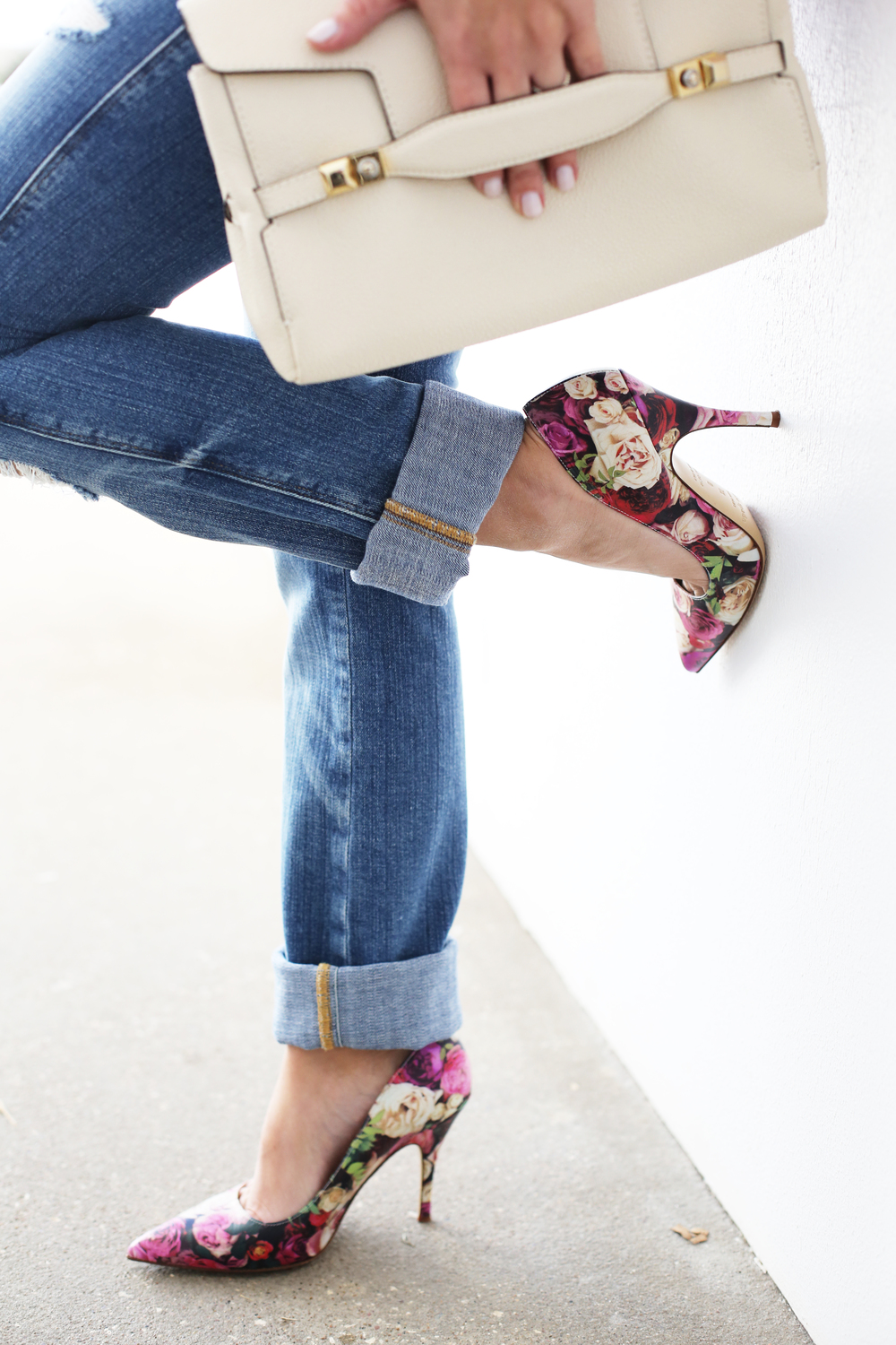 Henri Bendel Handbag, Kate Spade Shoes, Frame Denim.JPG
