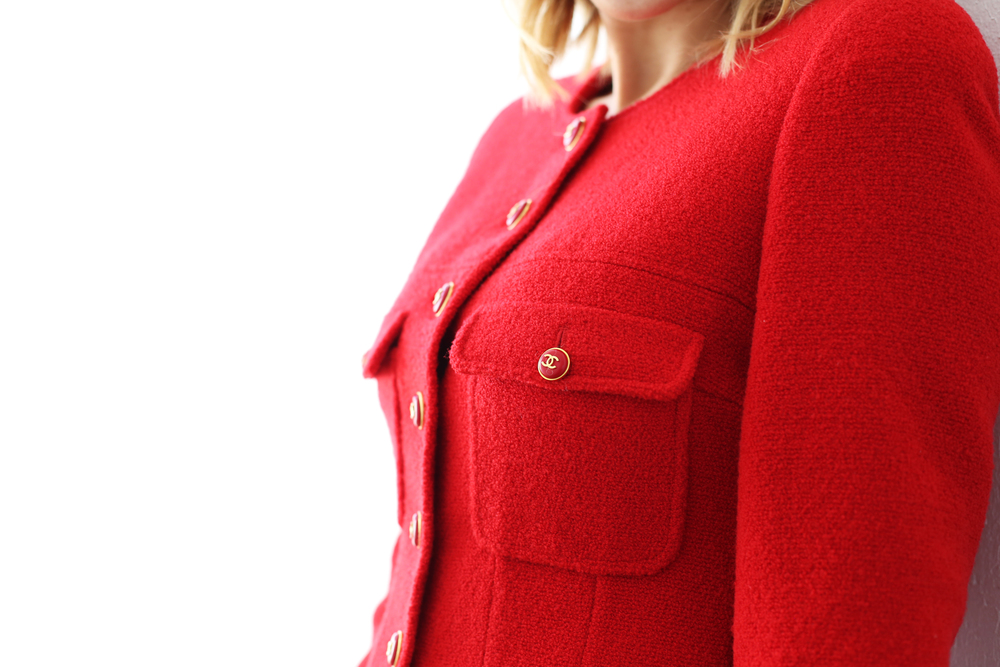 Chanel Red Blazer.JPG
