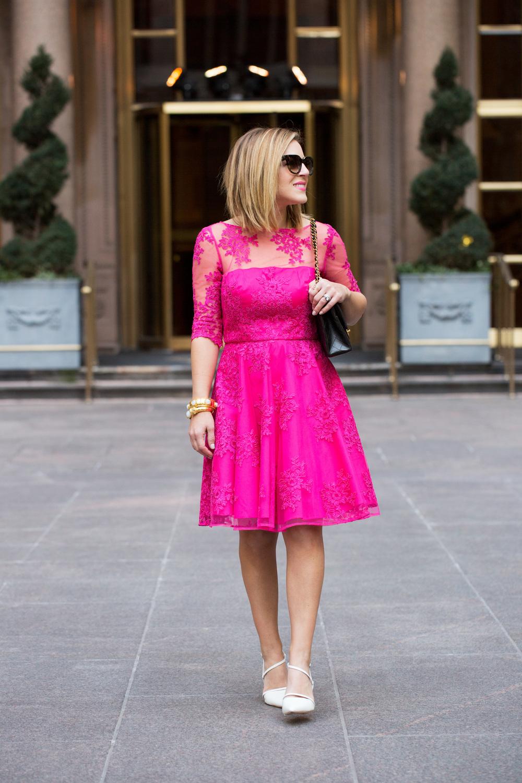 Pink Lace Dress by Monique Lhuillier 7.jpg