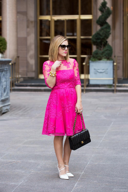 Pink Lace Dress by Monique Lhuillier 9.jpg