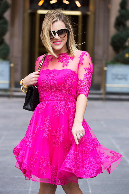 Pink Lace Dress by Monique Lhuillier 4.jpg